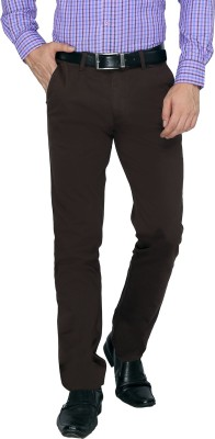 FN Jeans Regular Fit Men's Brown Trousers