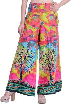 InBlue Fashions Regular Fit Women,s Multicolor Trousers