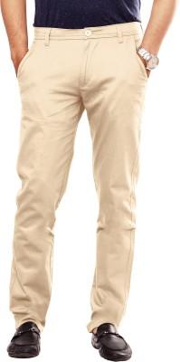 Uber Urban Slim Fit Men's Beige Trousers