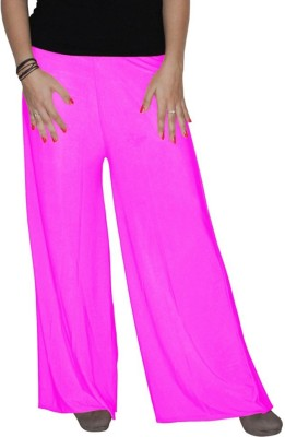 Xarans Regular Fit Women's Pink Trousers
