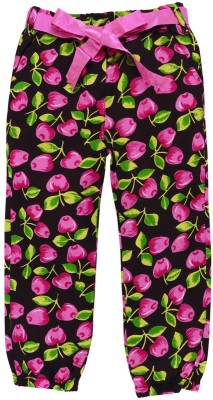 Oye Regular Fit Girl's Pink Trousers