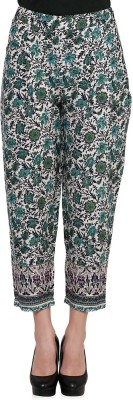 Oxolloxo Regular Fit Women,s Multicolor Trousers