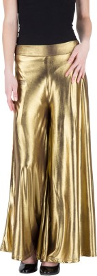 Castle Regular Fit Women's Gold Trousers