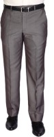 Park Avenue Slim Fit Mens Brown Trousers
