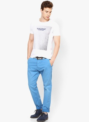 Jack & Jones Regular Fit Men's Light Blue Trousers