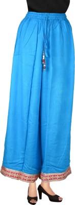 Decot Paradise Regular Fit Women's Light Blue Trousers