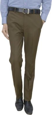 Integration Slim Fit Men's Green Trousers