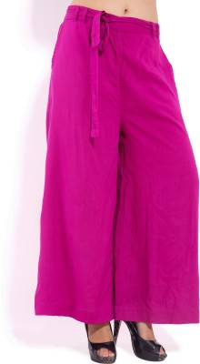 Goodwill Impex Regular Fit Women's Pink Trousers