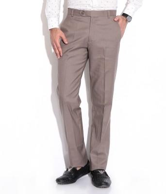 Regalfit Regular Fit Men's Brown Trousers