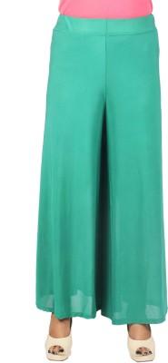 SRS Regular Fit Women's Green Trousers