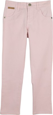 Cherry Crumble California Regular Fit Baby Boy's Pink Trousers
