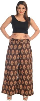 Salwar Studio Regular Fit Women's Brown Trousers