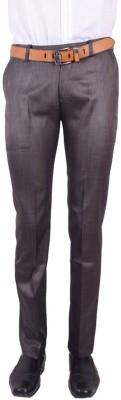 Logas Slim Fit Men's Grey Trousers