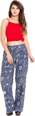 Goodwill Impex Regular Fit Women's Blue Trousers