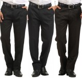 Inspire Slim Fit Men's Black, Blue, Brow...