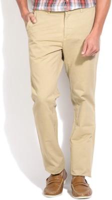 Gant Regular Fit Men's Beige Trousers