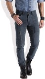Roadster Regular Fit Men's Blue Trousers