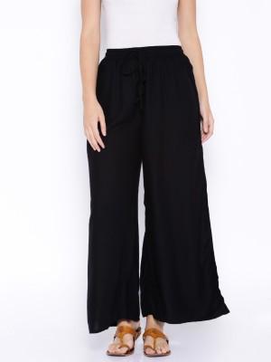 Anouk Regular Fit Women's Black Trousers