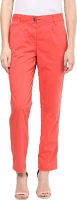 Hapuka Regular Fit Women's Orange Trousers