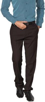 Provogue Slim Fit Men's Brown Trousers