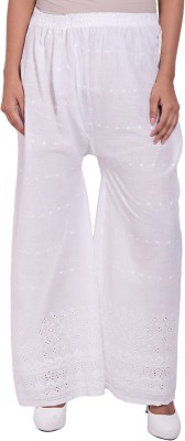 diva boutique Regular Fit Womens White Trousers