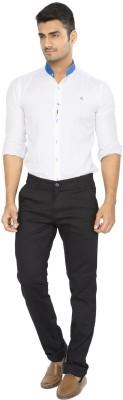 Fairro Trousers Slim Fit Men's Black Trousers
