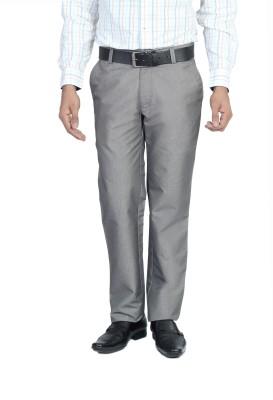 Live In Slim Fit Men's Grey Trousers