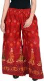 Magnus Regular Fit Women's Red Trousers