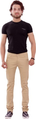 New Valley Regular Fit Mens Beige Trousers