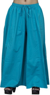 Chhipaprints Regular Fit Women's Light Blue Trousers