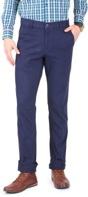 FR Slim Fit Men's Dark Blue Trousers