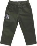 Yk Regular Fit Boys Green Trousers