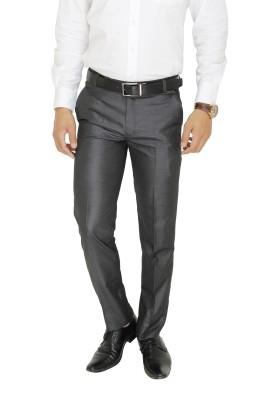 Cottinfab Regular Fit Men's Dark Blue Trousers