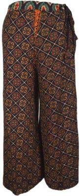 Shopatplaces Regular Fit Women's Brown Trousers
