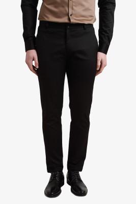 Alvin Kelly Slim Fit Men's Black Trousers