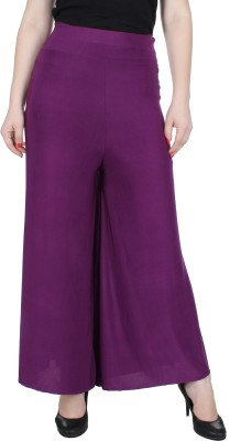 Broadstar Regular Fit Womens Pink Trousers
