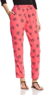 Atayant Regular Fit Women's Pink Trousers