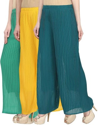 Skyline Trading Regular Fit Women's Green, Yellow, Green Trousers