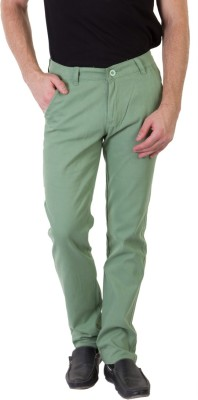 Bloos Jeans Slim Fit Men's Green Trousers