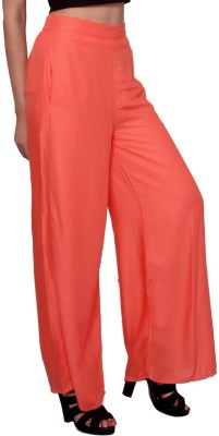 MSONS Regular Fit Women's Multicolor Trousers