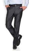 Park Avenue Slim Fit Mens Grey Trousers