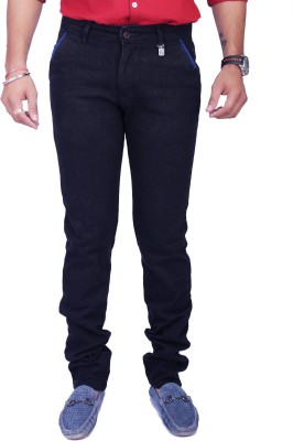 Rusty Cooper Regular Fit Men's Black Trousers
