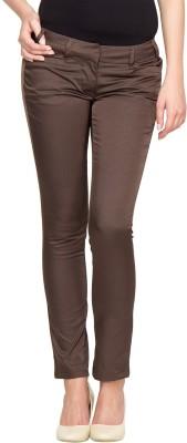 Species Regular Fit Women's Brown Trousers
