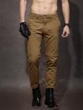 Roadster Regular Fit Men's Brown Trouser...