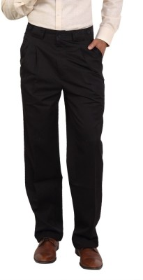 Bottoms Regular Fit Men's Grey Trousers