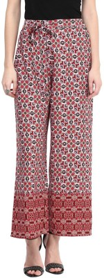 Color Cocktail Regular Fit Women's Red Trousers
