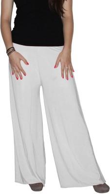 shrayst fashion Regular Fit Women's White Trousers