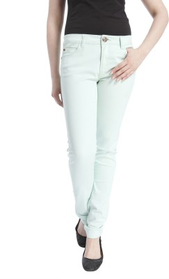 Only Regular Fit Women's Blue Trousers