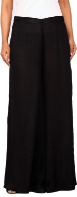 Belinda Regular Fit Women's Black Trousers