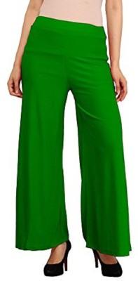 Edge Plus Regular Fit Women's Dark Green Trousers